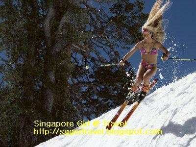 Bikini Skiing 18 Bikini Ski Babes 4   they are so smart
