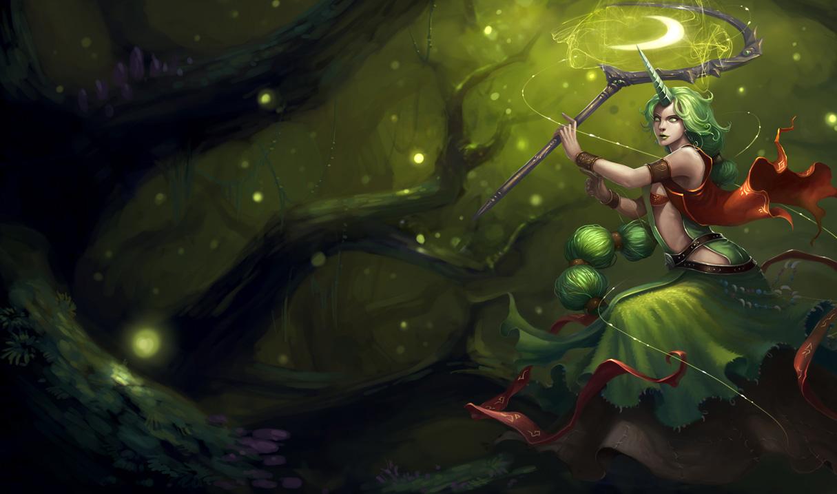 League of Legends Wallpaper: Soraka - The Starchild