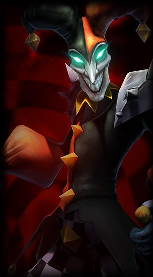 League of Legends Wallpaper: Shaco - The Demon Jester