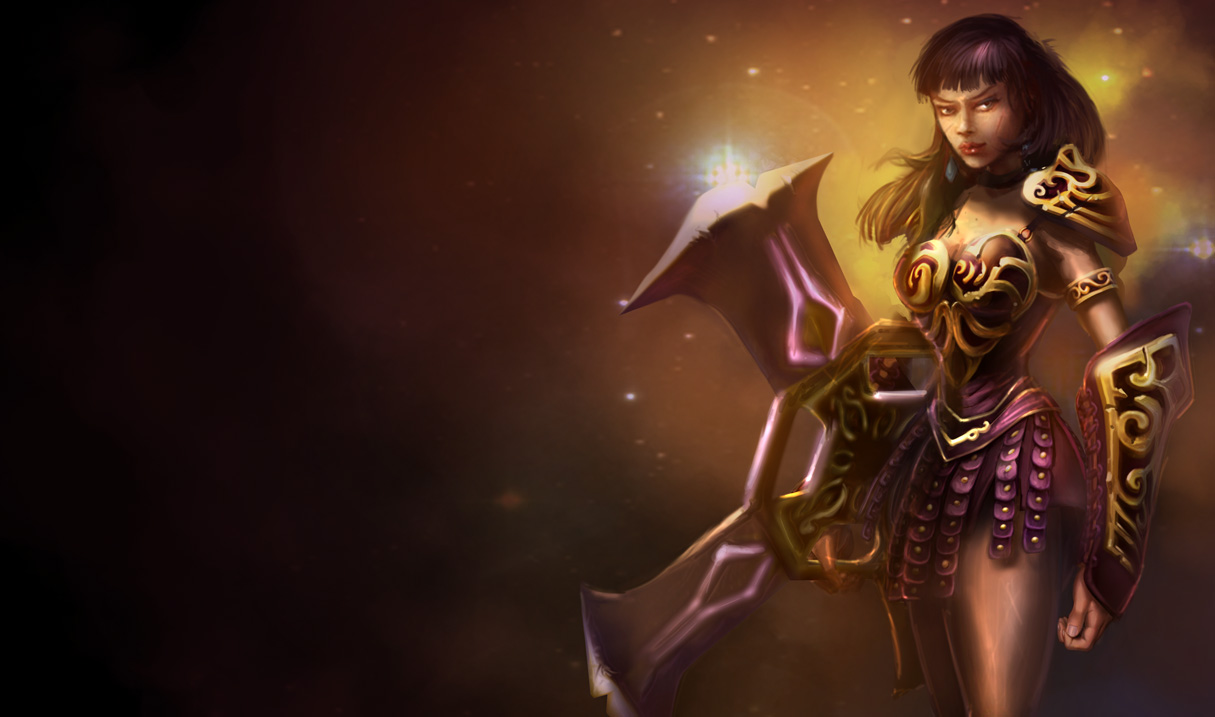 League of Legends Wallpaper: Sivir - The Battle Mistress