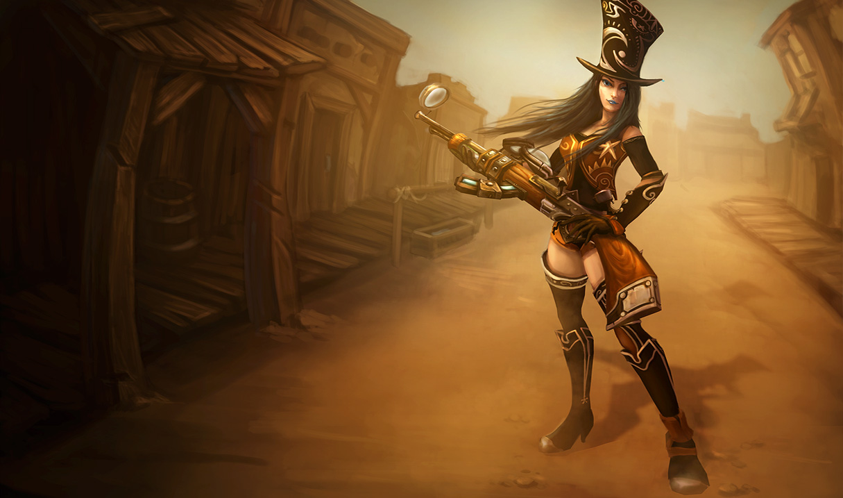 League of Legends Wallpaper: Caitlyn - The Sheriff of Piltover