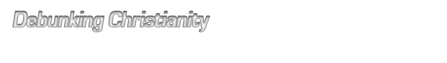 New Debunking Christianity