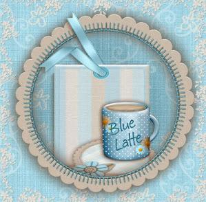 Blue Latte     $7.50