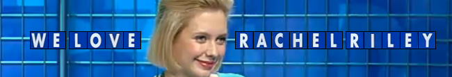 We Love Rachel Riley