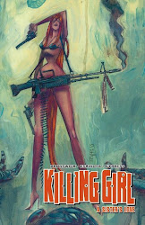 KILLING GIRL, VOL 1 - TPB - ALSO BY GLEN BRUNSWICK - ART BY F. ESPINOSA - T. CYPRESS - CLICK TO BUY