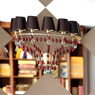 Free 3D model - Golden strawbs sconce