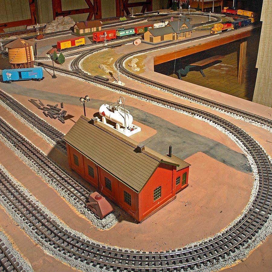 O gauge model railroading