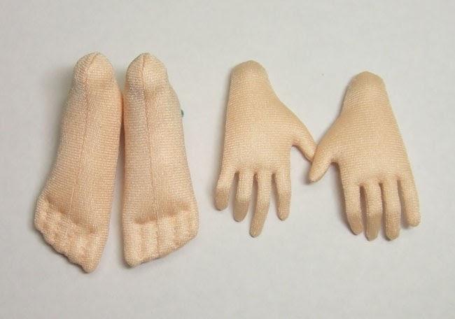 Как сшить руку с пальцами 250