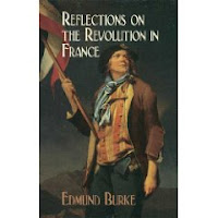 Reflections of the Revolution in France Book Cover by Edmund Burke