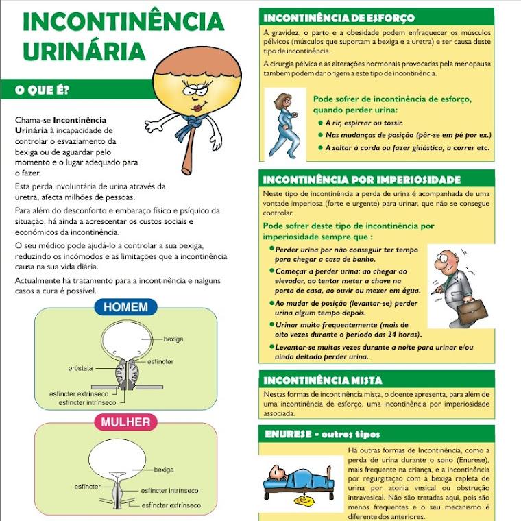 Saiba mais sobre a incontinência urinária