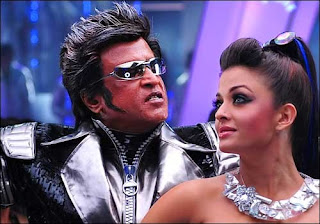 rajni and aish in endhiran