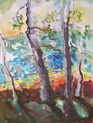 Oil Paintings Of Trees