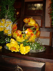 Arranjo Floral - Papoulas e gipsufila