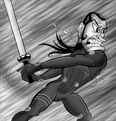 Masaru Katou Gantz fanart