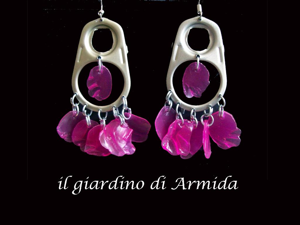 Il giardino di armida orecchini chandelier linguette e - Il giardino di ausonia ...