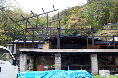 Renovation work at Los Nances in El Valle