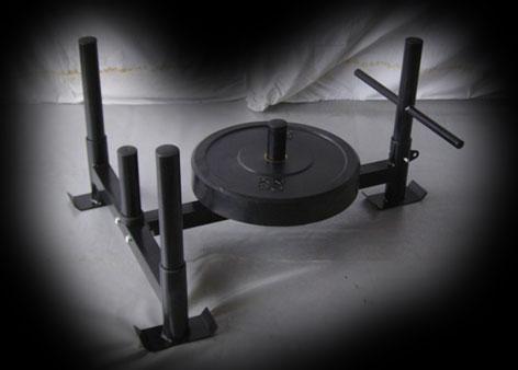 Homemade gym stuff mini prowler homemade gym stuff for Gimnasio casero
