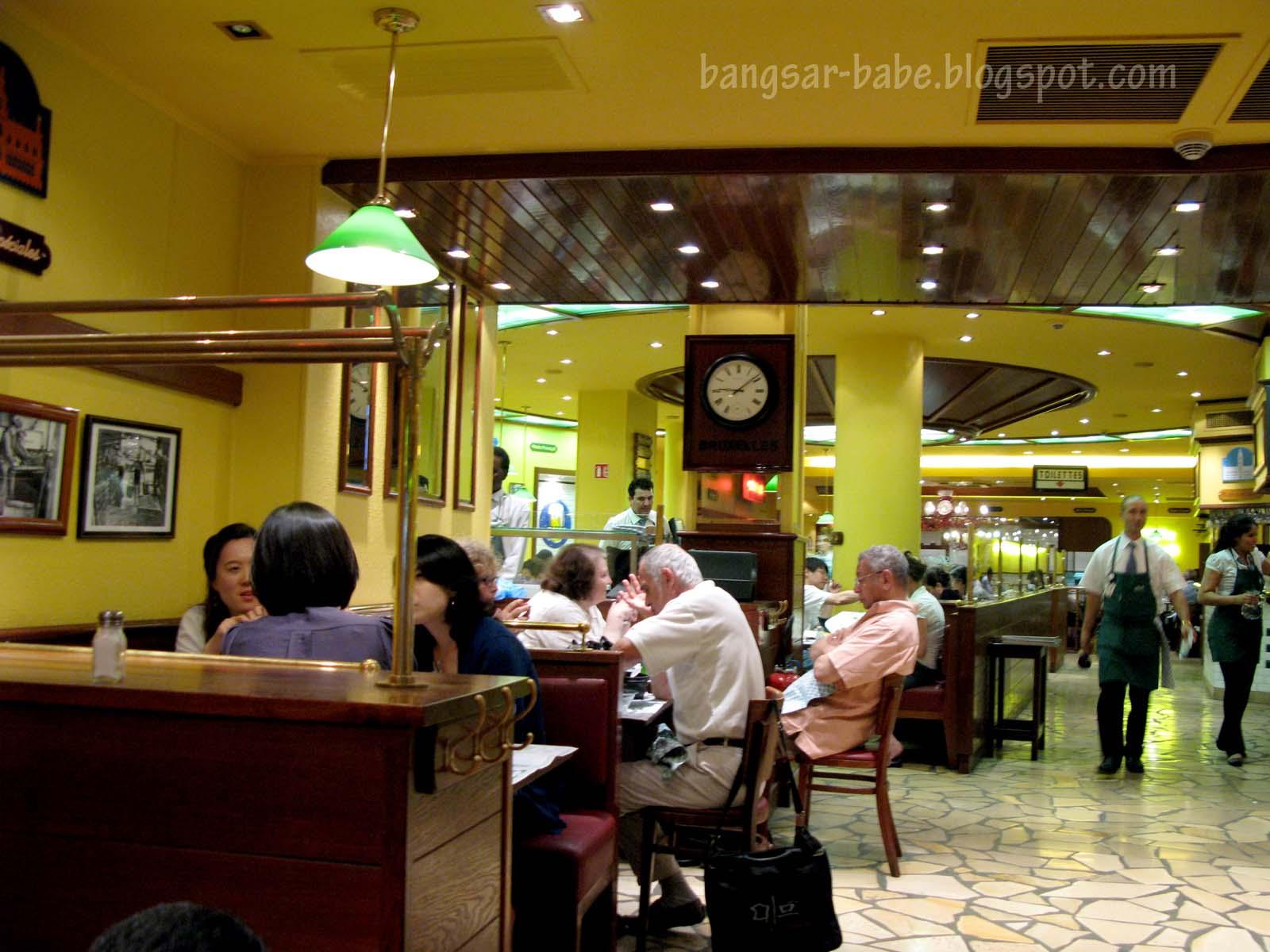 Restaurant Leon Bruxelles Paris