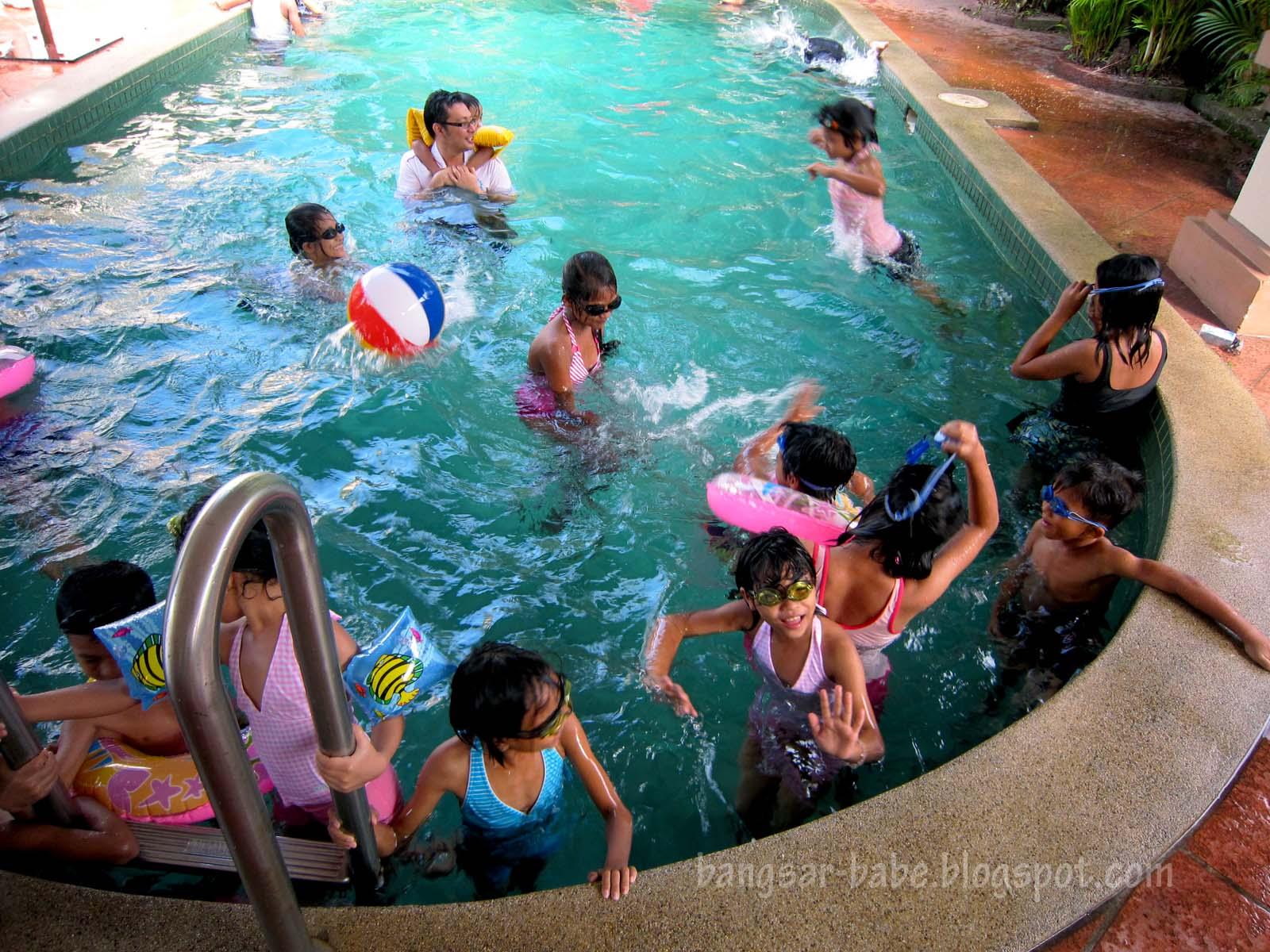 Kids Pool Party Pool party for myanmar kids