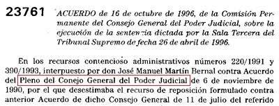 BOE Conejo General del Poder Judicial