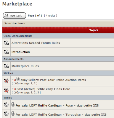 Marketplace Added to the AN Forum!