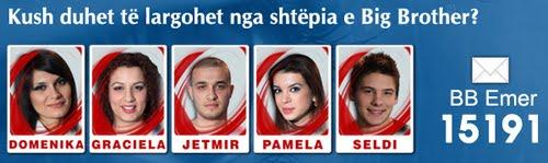 Big Brother Albania 3 Nominimet 2