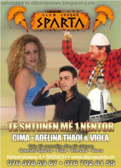 Disco Sparta Cima Adelina Thaqi Viola