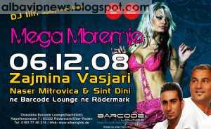Barcode Lounge 6 Dhjetor 2008