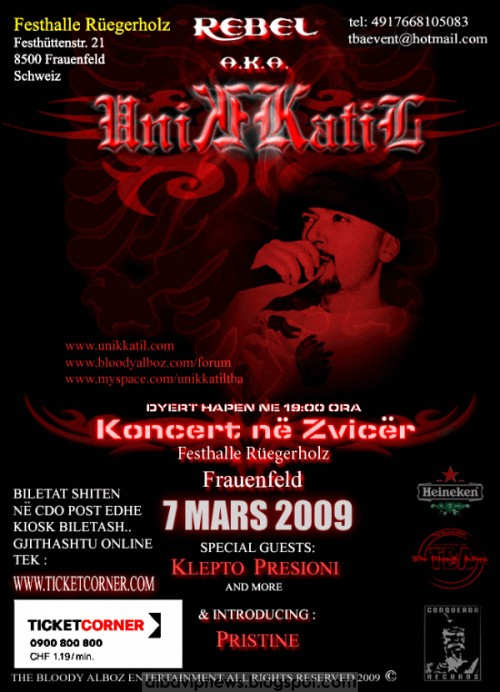 Unikkatil 7 mars 2009
