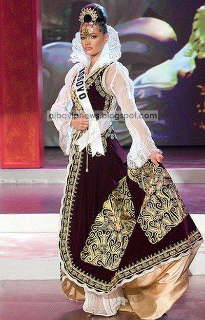 Zana Krasniqi Miss Universe Kosova 2008