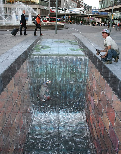 All Graphical: Street Art (Julian Beever Part 5)