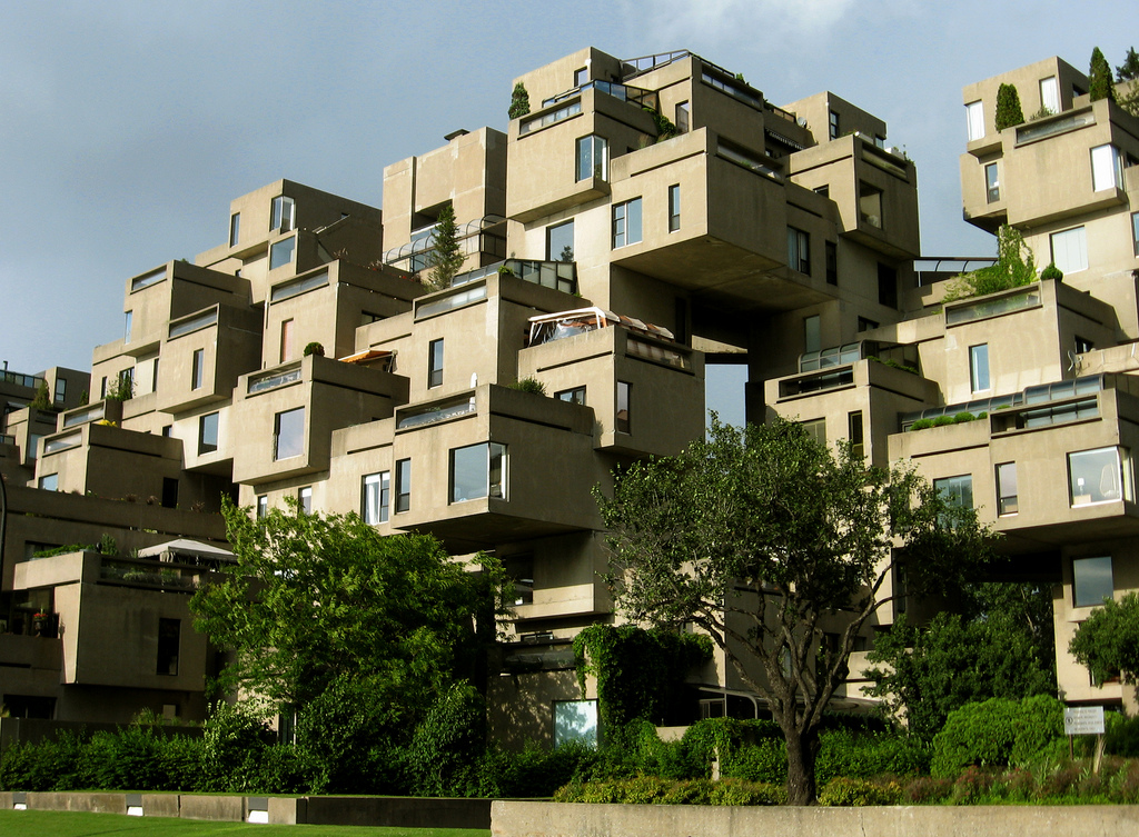 All graphical habitat 67 montreal quebec canada for Habitat 67 architecture