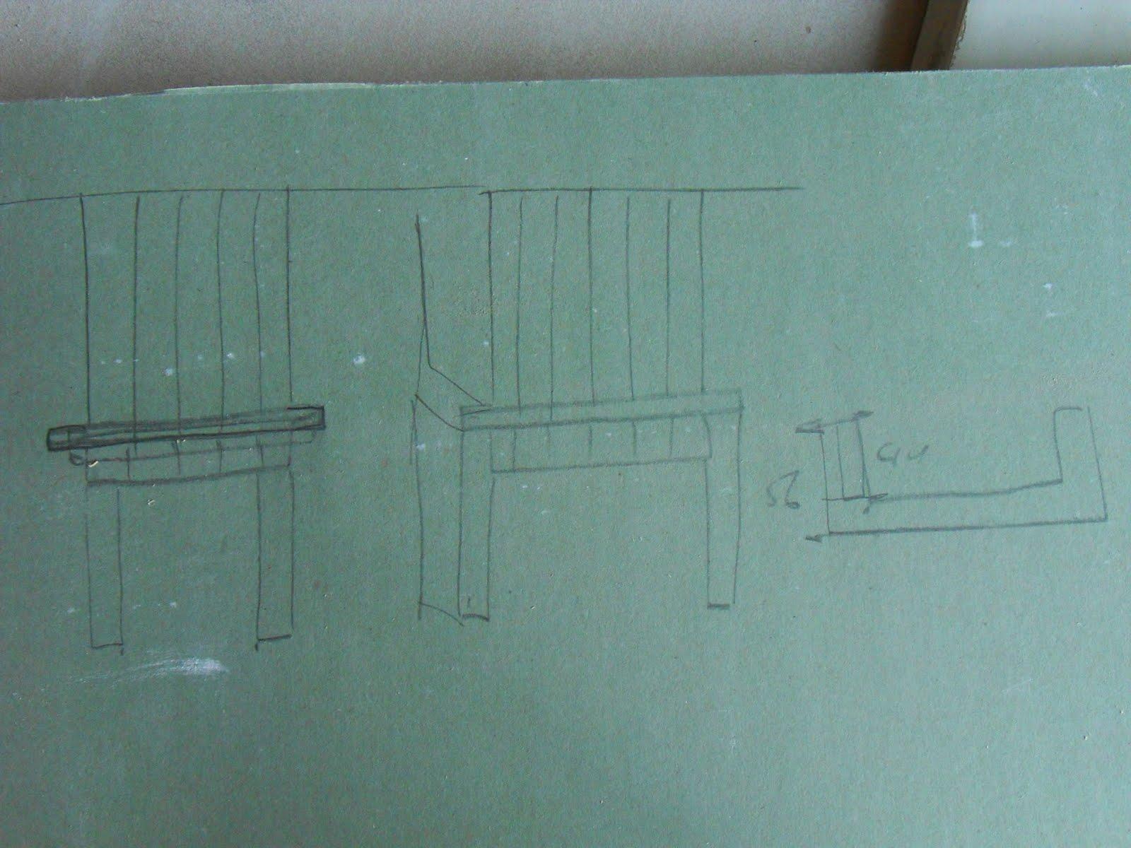 Keuken Schouw Zelf Maken : tekeningen van de te maken schouw in de keuken