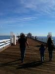 Malibu Pier - January