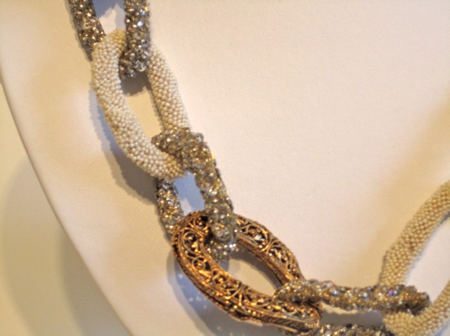 Rare vintage best of the best chanel haute couture necklaces for Chanel haute couture price range