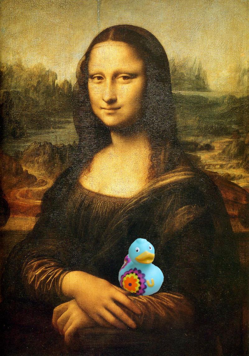 Mona Lisa and Spring