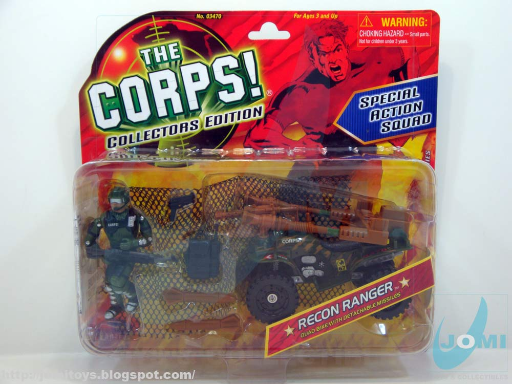 The Corps Action Figures