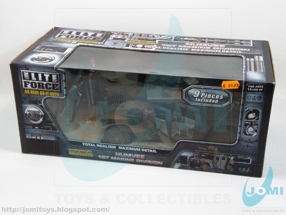 Elite Force 1 18 Toy : Jomi toys under maintenance elite force humvee st
