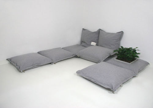 Elegant Modular Cushions Can Be Connected With Zips On All Four Sides, So There Are  Endless Possibilities To Build Nearly Every Situation Of Sitting Or Laying  Down ...