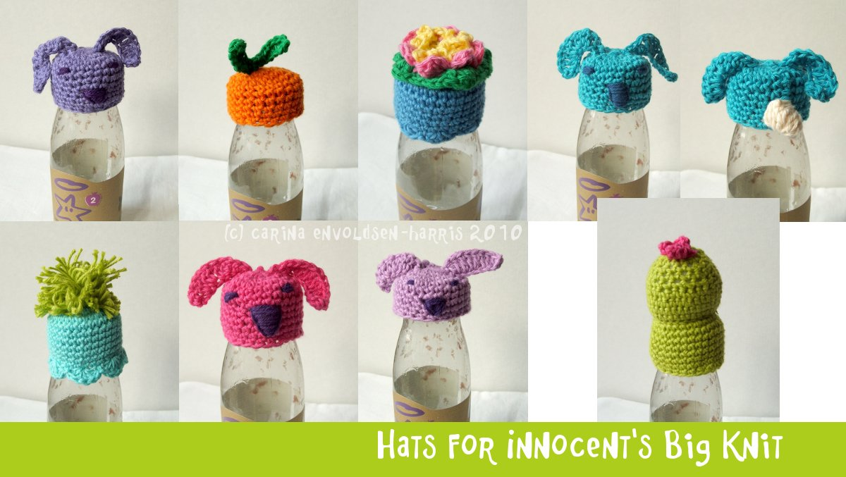 Carinas Craftblog: Crochet hats for the Big Knit