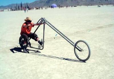 Foto Sepeda Unik Hasil Modifikasi