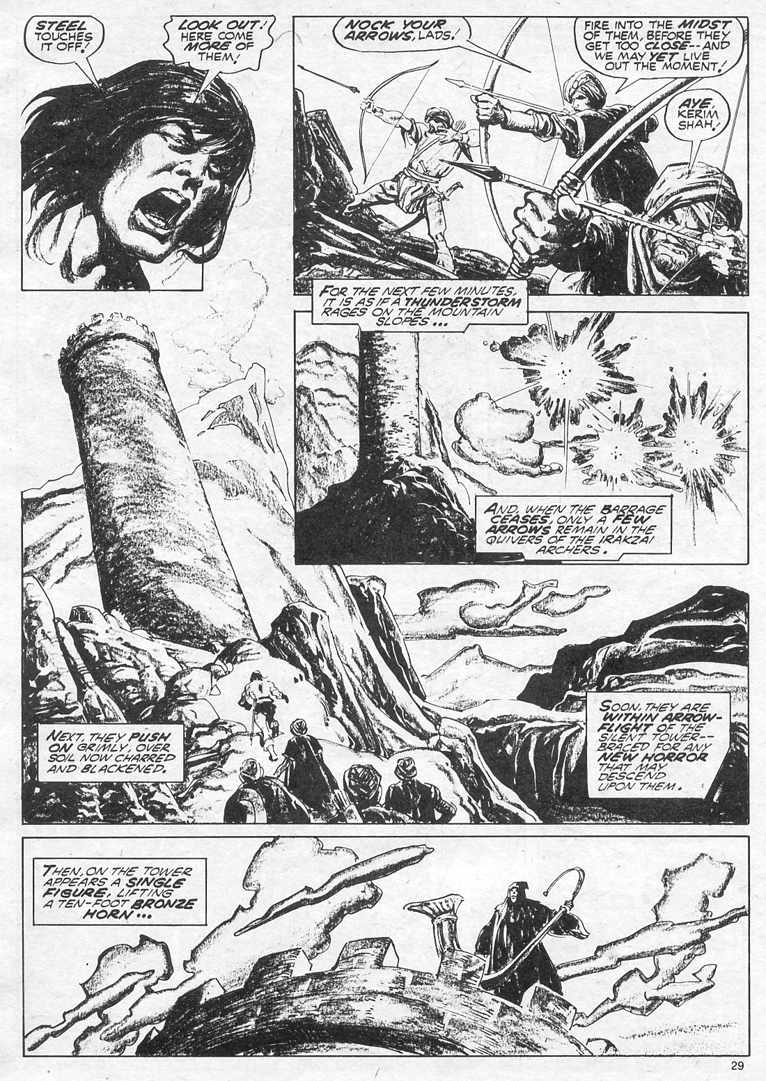 The Savage Sword Of Conan Issue #18 #19 - English 29