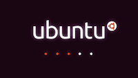 Detalhe da tela de carregamento do Ubuntu 10.04
