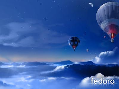 Wallpaper flashback: Fedora 7
