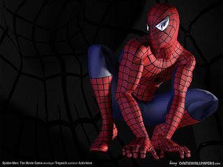 Gambar wallpaper spiderman 3D