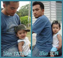 sayang anak ayah...