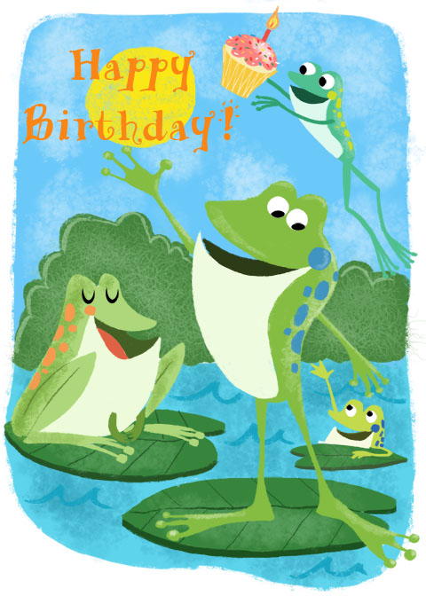Birthday frog images for Frog consulting