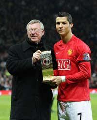 Cristiano Ronaldo and Ferguson