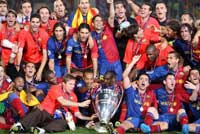 Barcelona champions of europe