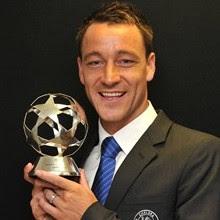 Chelsea's John Terry, voted Best Defender of last season's UEFA Champions League